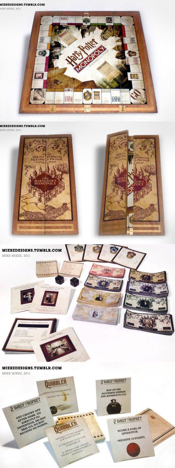 Travaux pratiques : le jeu Monopoly Harry Potter.