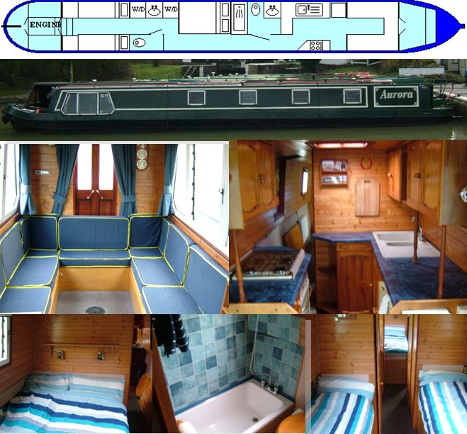 AURORA 1990 56FT SEMI-TRAD- SOLD www.calcuttboats.com
