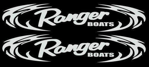 Ranger Boats Tribal Decal Sticker set choose color 3 x 18 ...