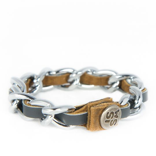 Link one BOLD! Past perfect bij je horloge of je andere armbanden. Diverse kleuren, kijk bij www.issamadeby.nl/shop/made-by-caroline/link-one