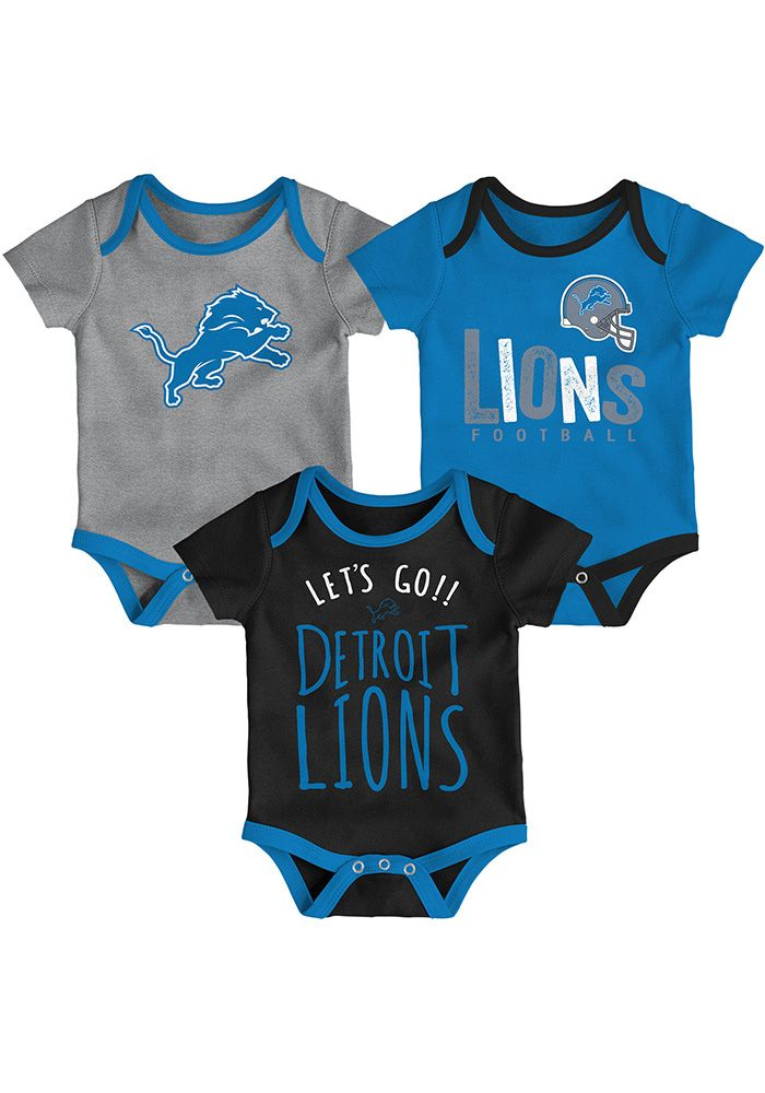 e8abe37c Detroit Lions Baby Blue Little Tailgater One Piece - 13347922 | NFL ...