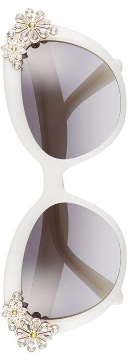 kate spade new york 'karyna' 55mm cat eye sunglasses