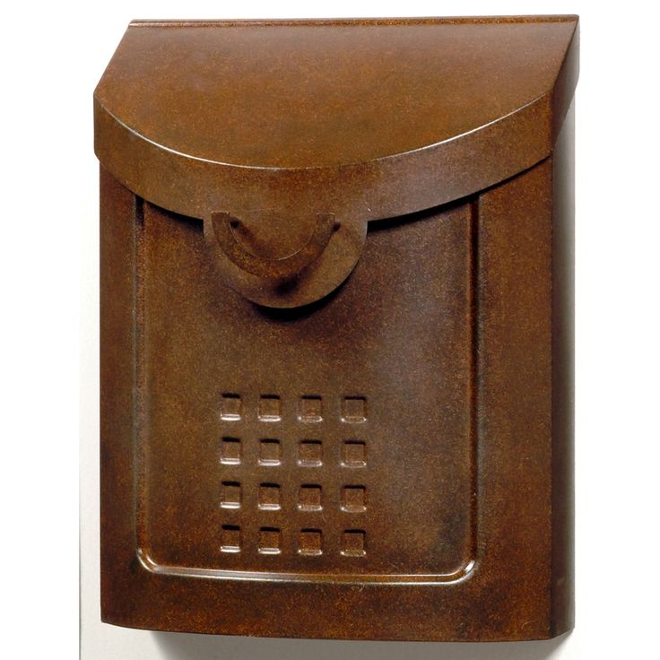 Gibraltar Industries 11.25-in x 12.25-in Metal Aged Copper Wall Mount Mailbox