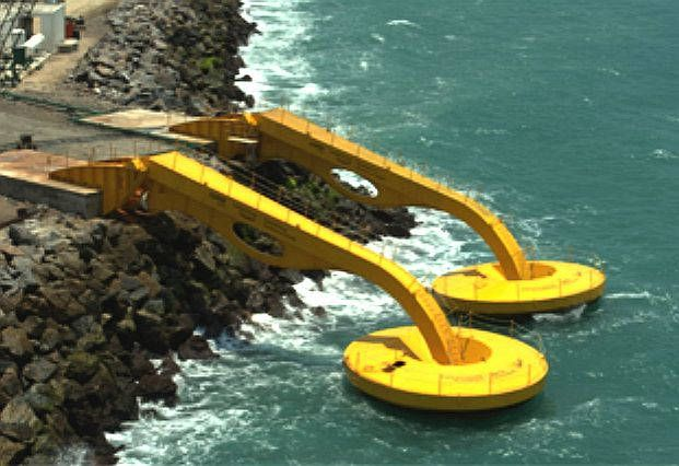 In the state of Ceara, which is in the northeastern part of Brasil is one of the first wave energy converters for Latin America
