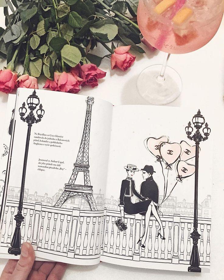 Nejkrásnější ilustrace  knížka: Ilustrovaný svět módní ikony Coco Chanel od Megan Hess!  krásné ilustrace slavné citáty a krátce sepsaný životní příběh Coco  #meganhess #ilustration #cocochanel #chanel #roses #flowers #gin #tonic #drink #flowers #book #tablebook #perfect #beauty #beautiful #fashion #style #vogue #love #blog #blogger #bloger #czech #czechgirl #girl #likeforlike #like4like #pictureoftheday