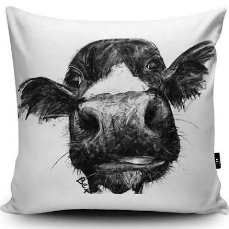 black cow pillow - Google Search
