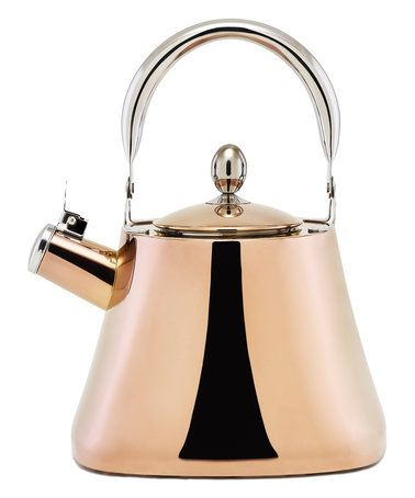 Another great find on #zulily! DuraCopper Callisto Whistling Kettle #zulilyfinds
