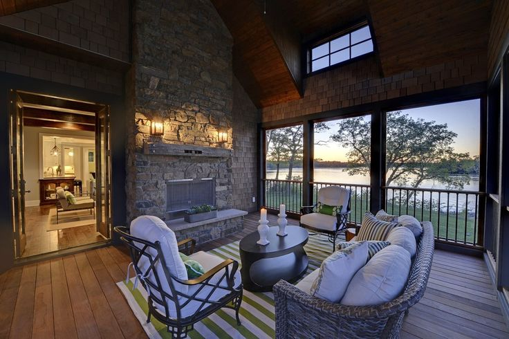 38 Best Timber Frame Covered Deck Outdoor Fireplace Images