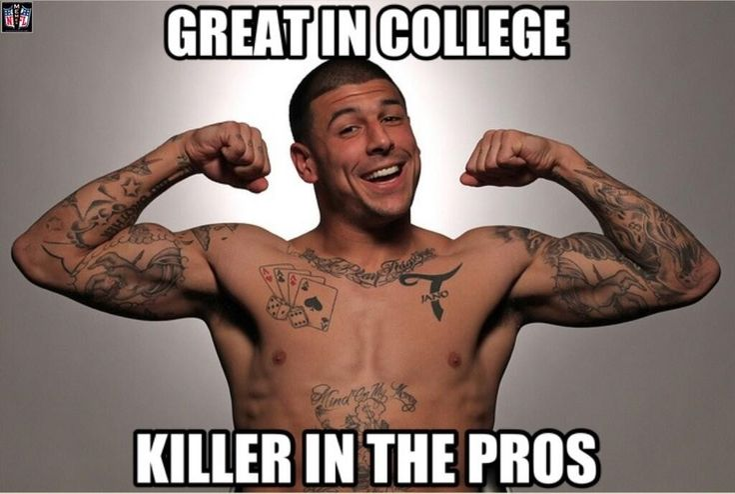 Aaron Hernandez meme | Sports Memes | Pinterest | Aaron ...