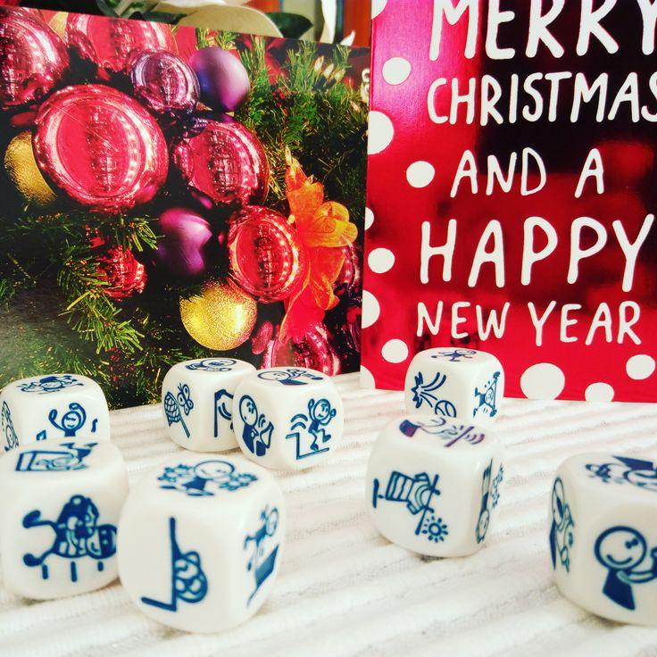 Regalos de Navidad para niños y adultos. En clase de español nos encanta usar Rory's Story Cubes.