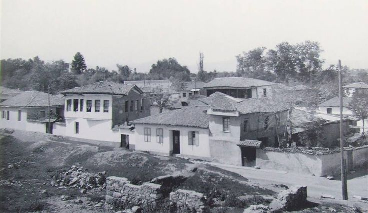 Alasonya in the beginning of past century... I think it's beside the Elassonitikos river.