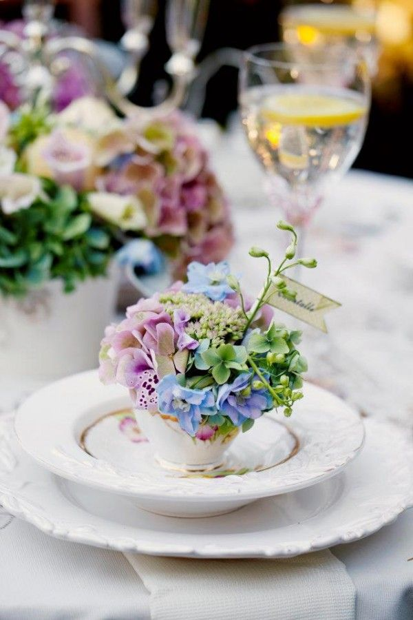 <3  Teacup-Place-Card-Holders~ Let's Set The Table~