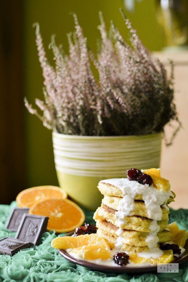 glutenfree millet yoghurt pancakes