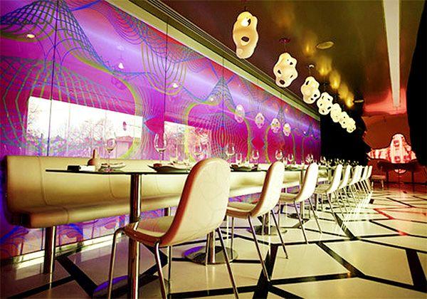 Karim Rashid - the interior of club