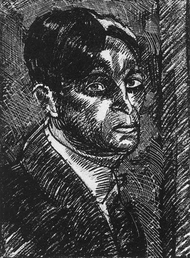 Nemes Lampérth József painter Self-portrait 1920 - Nemes-Lampérth József – Wikipédia