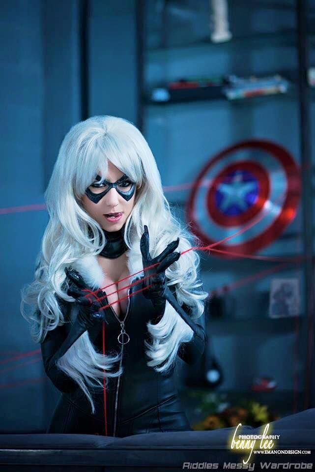 Black Cat Riddle Cosplay