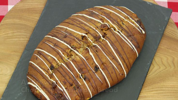 This chocolate barmbrack bread recipe is featured in Season 4, Episode 3.