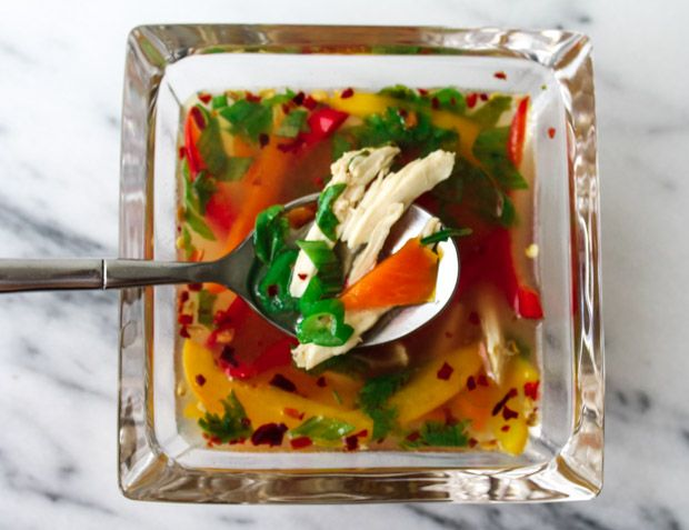 easy to make spicy chicken soup
