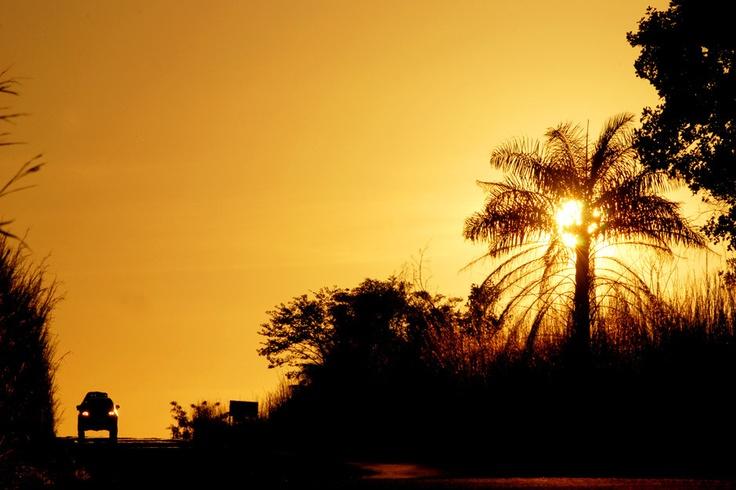sunset Kenia