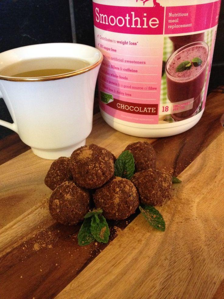 Healthy Choc-Mint Bliss Balls