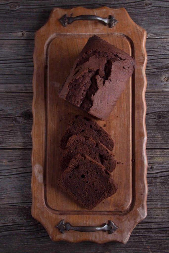 Schokoladiger Schokoladenkuchen