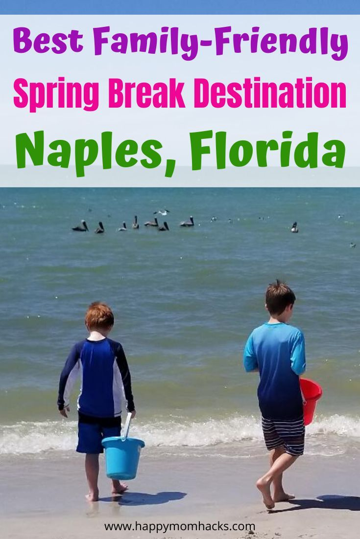 Fun Things To Do Attractions In Naples Florida With Kids Happy Mom Hacks Best Spring Break Destinations Spring Break Destinations Fun Family Trips