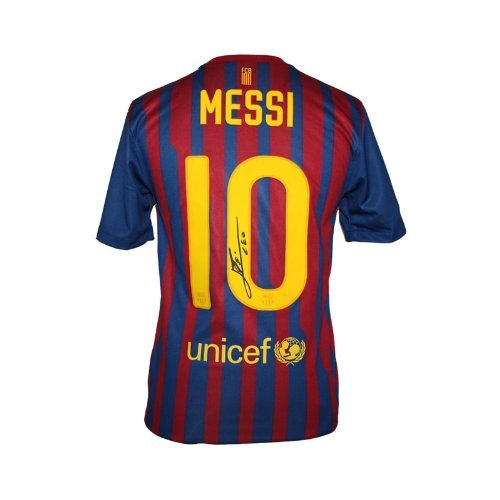 Lionel Messi Signed Barcelona Home Jersey 2011-12 $579.99