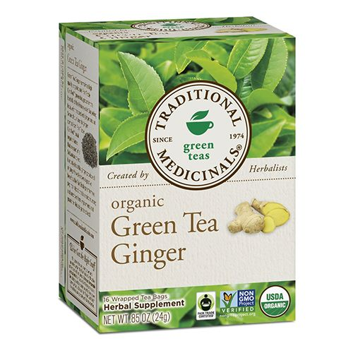 Traditional Medicinals Organic Green Tea Ginger - BestProducts.com