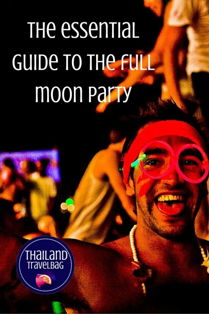 Are you ready for one of the world's most legendary parties? Then don't forget to read our essential guide first. #Fullmoonparty #Thailand #Kohphangan
