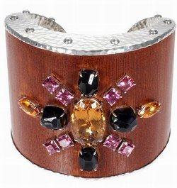 Bracelet : bijou bambou : manchette John Hardy - Accessoires bijoux: bijou: bijoux en bois: créateurs bijoux