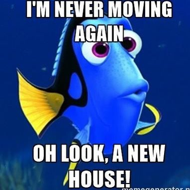We are moving. We have three small children. Enough said.  Do I need to explain the lack of updates? Didn't think so... . . . #helpweremoving #moving #movingmemes #ihatemoving #movingishard #movinghouse #movinghousesucks #movinghome