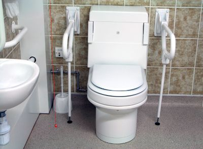 #HandicappedToilets Learn more at http://www.disabledbathrooms.org/handicap-toilets.html