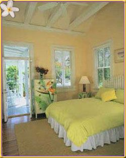 furnished with individually selected antiques in the caribbean style