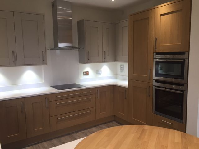 Practical and Stylish Fully-fitted Kitchen in Retirement Apartments in Hampshire #modernkitchen