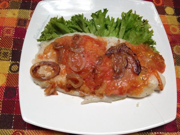 Aprenda a preparar uma saborosa garoupa assada, clique na imagem e descubra a receita! #peixe #receitas #almoço #jantar #garoupa #TudoReceitas