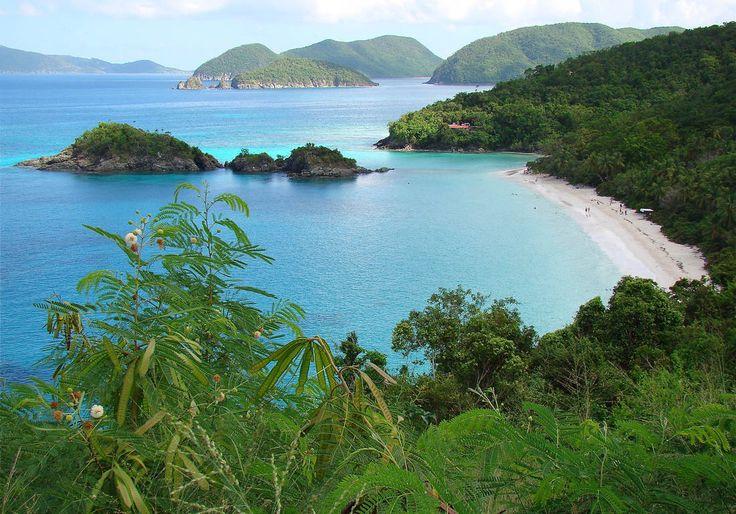 L'île Saint-John dans les îles Vierges américaines