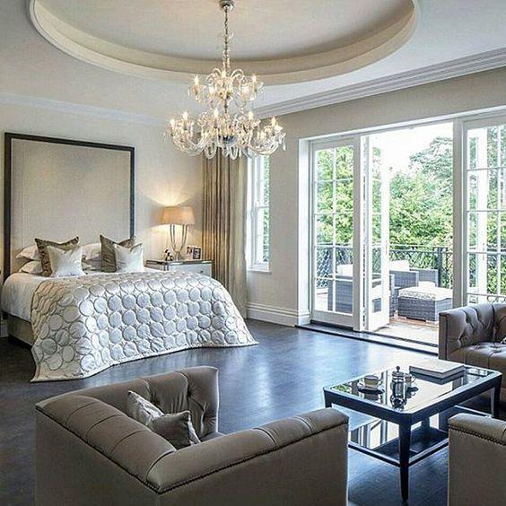 Modern Mansion Master Bedrooms 1031 best images about habitaciones on pinterest | master bedrooms