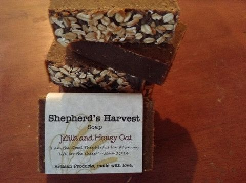 Milk and Honey Soap - Shepherd's Harvest