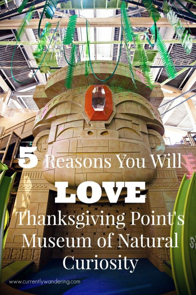 We love ourselves a good museum and Thanksgiving Point in Lehi, Utah has an amazing one. Check out our top 5 Reaons You Will LOVE Thanksging Point's Museum of Natural Curiosity!