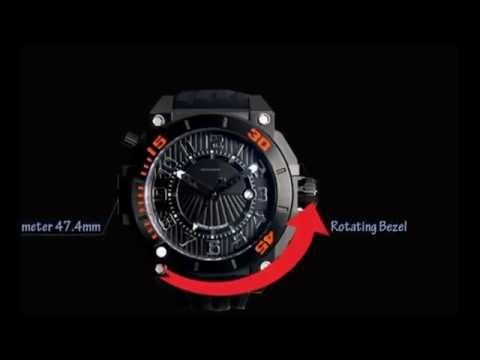 1000m waterproof dive watch