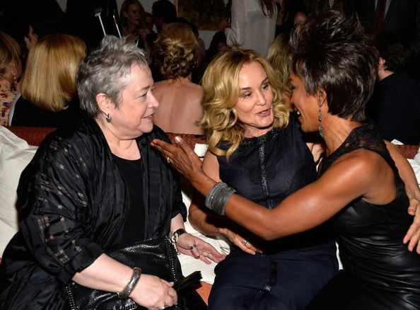 "Jessica Lange Photos - Actors Kathy Bates, Jessica Lange, Angela Bassett attend the Premiere Of FX's ""American Horror Story: Coven"" after party at Fig & Olive Melrose Place on October 5, 2013 in West Hollywood, California. - Premiere Of FX's ""American Horror Story: Coven"" - After Party"