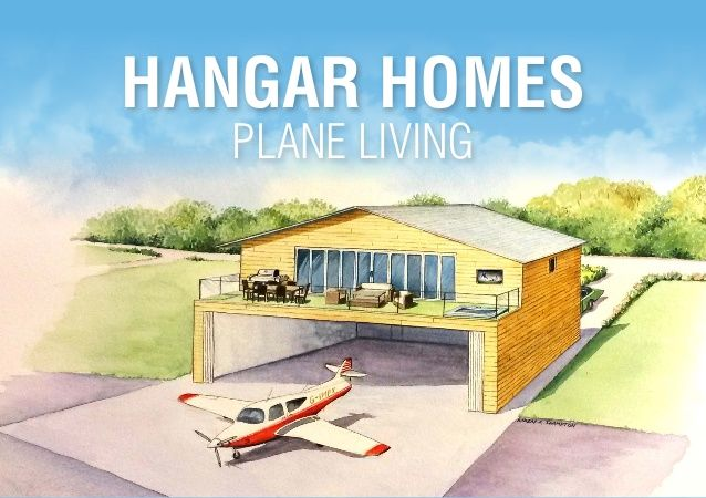 These Hangar Homes Are Ideally Suited For Small, Non Commercial Airfields  Or Private Airstrips In The UK And Europe. Made Of Cross Ply Timber, ...