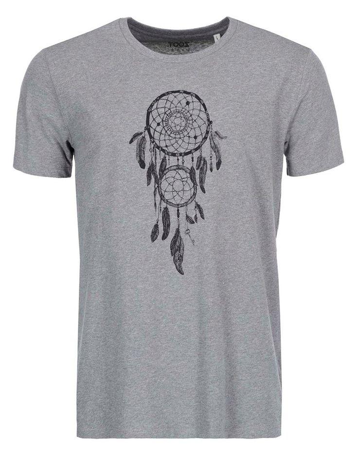 ZOOT Lokál - Šedé pánské triko  Lapač snů - 1
