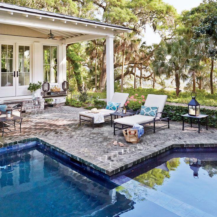 South Carolina River House Tour. Pool And PatioPool ...