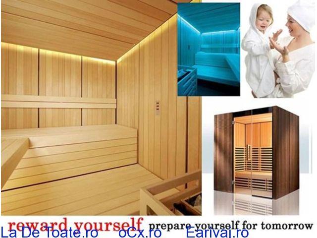 Saune profesionale,sauna de gradina,biosaune Bucuresti - La De Toate . ro