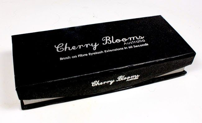Get Mega Lashes from Australia: Cherry Blooms Brush On Extensions