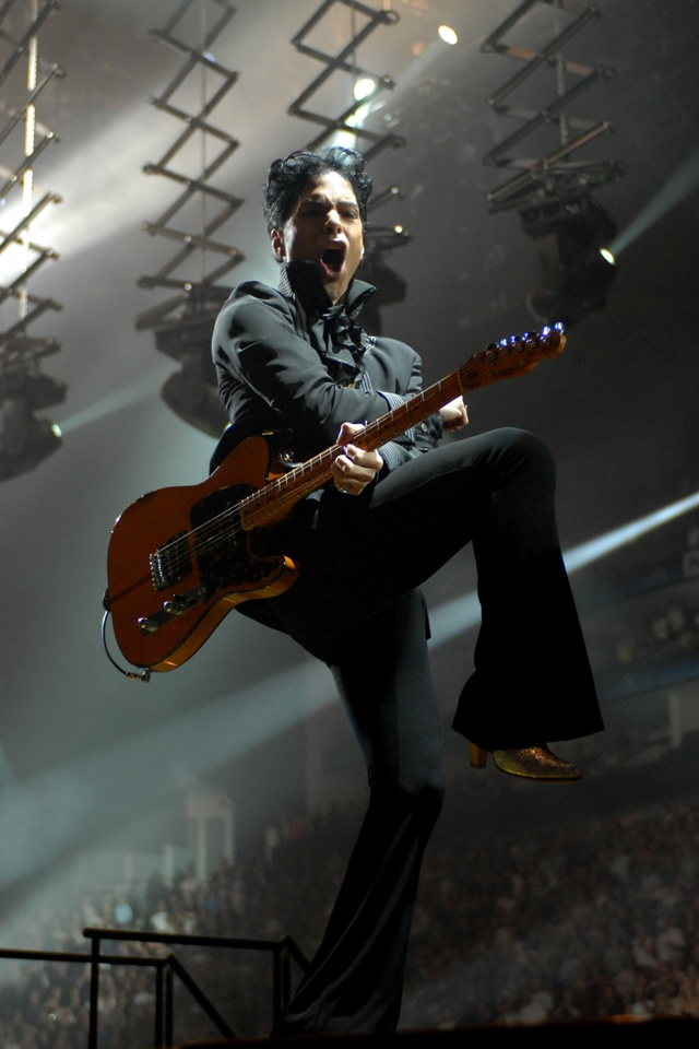 Prince rocks!