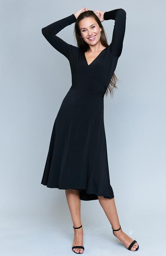 Kiara Black Dress