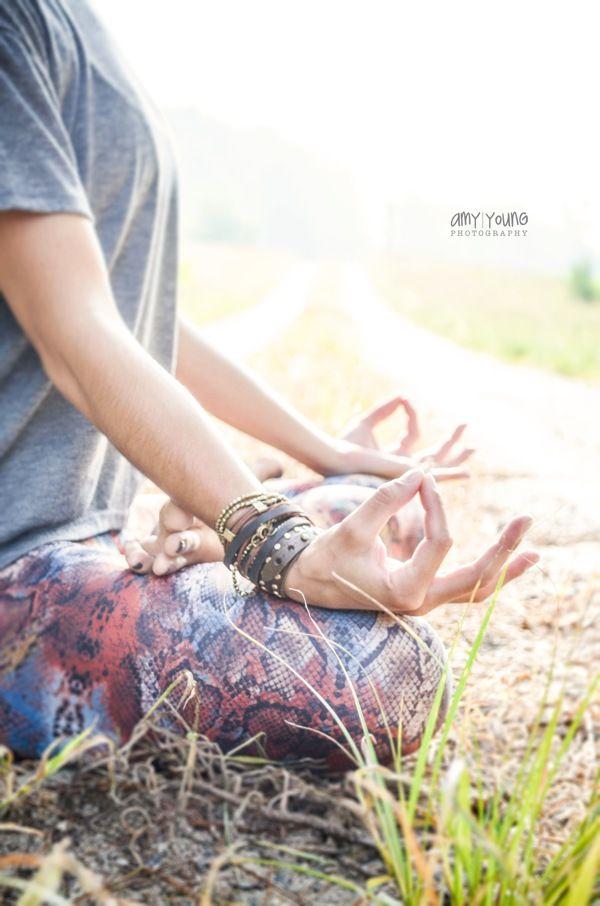 outdoor yoga session  hot asana teacher Lisa Tiffany by AMY YOUNG, via Behance