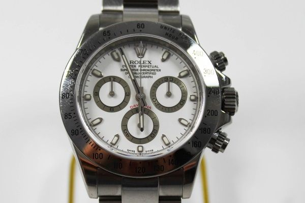 Rolex Daytona Herren Armbanduhr Referenz Nummer 116520 in Stahl https://www.ipfand.de/rolex-daytona  #Rolex #Daytona #116520